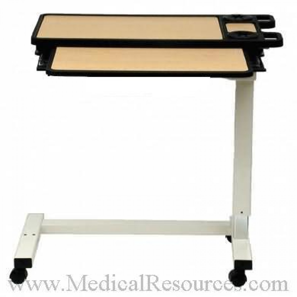 Split top overbed table - Amfab 4950 Executive Ii Split Top Overbed Table