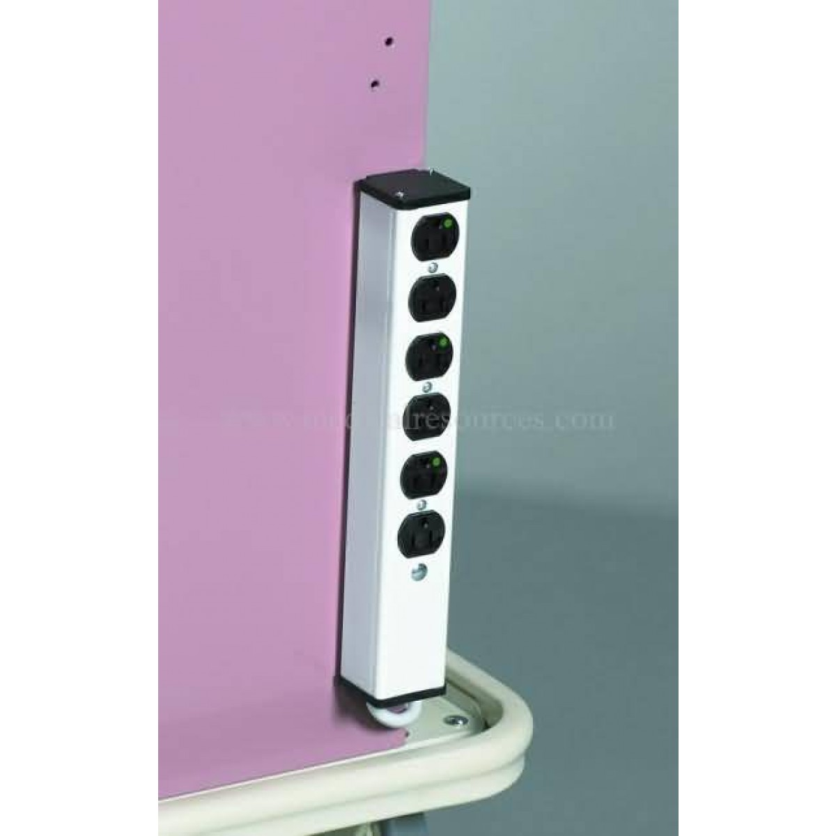 Mpd medical mobile cart outlet strip for Outlet mobile
