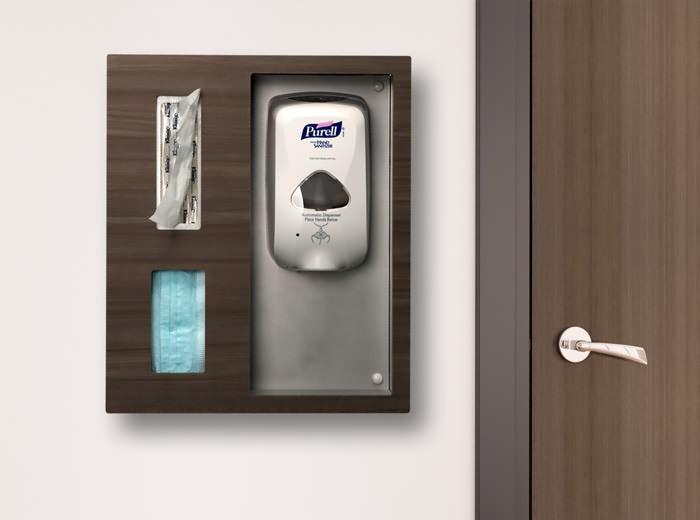 Takeform Additions Purify Sanitizer Station