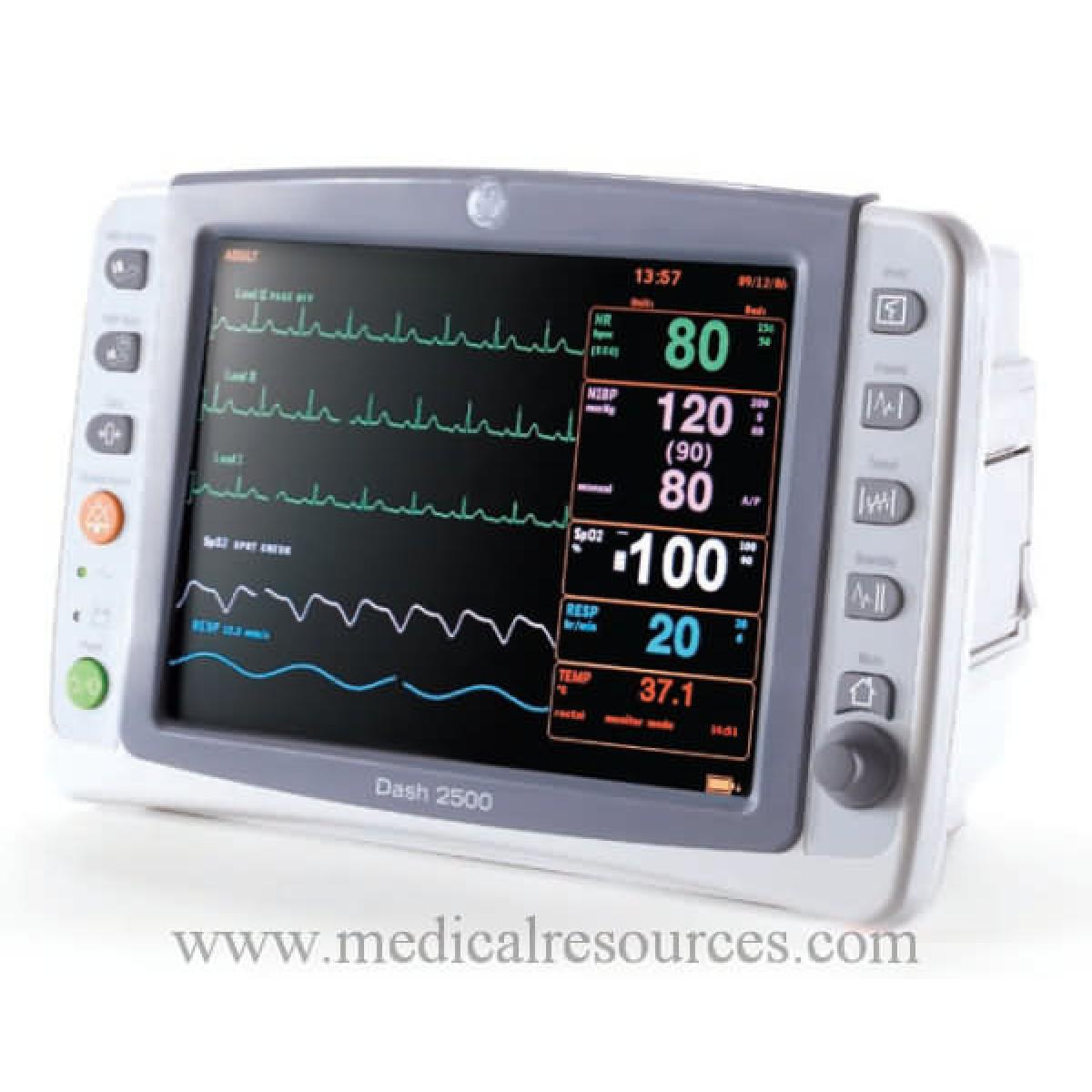Ge Healthcare Dash 2500 Patient Monitors Sale