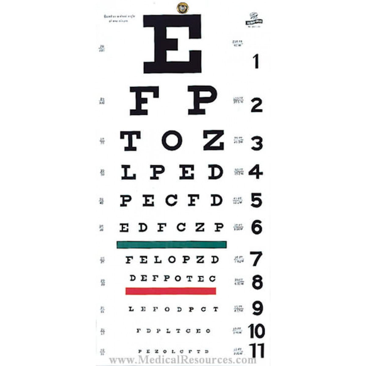 Vision testing graham field snellen eye test chart nvjuhfo Image collections
