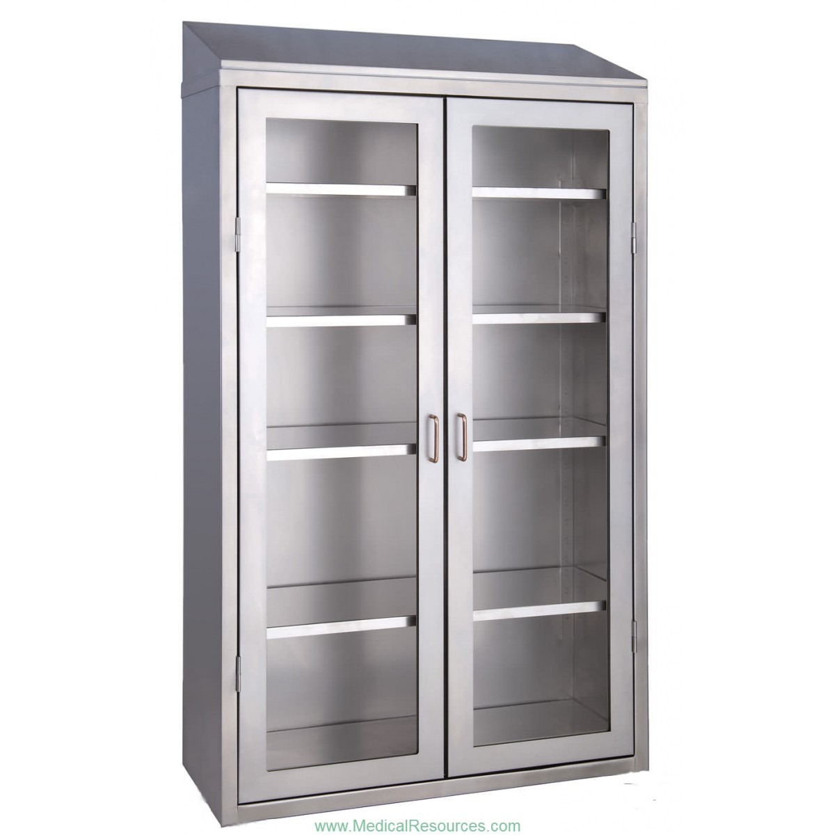 Medwurx Stainless Steel Stand Alone Instrument Supply Cabinets With Glass Doors