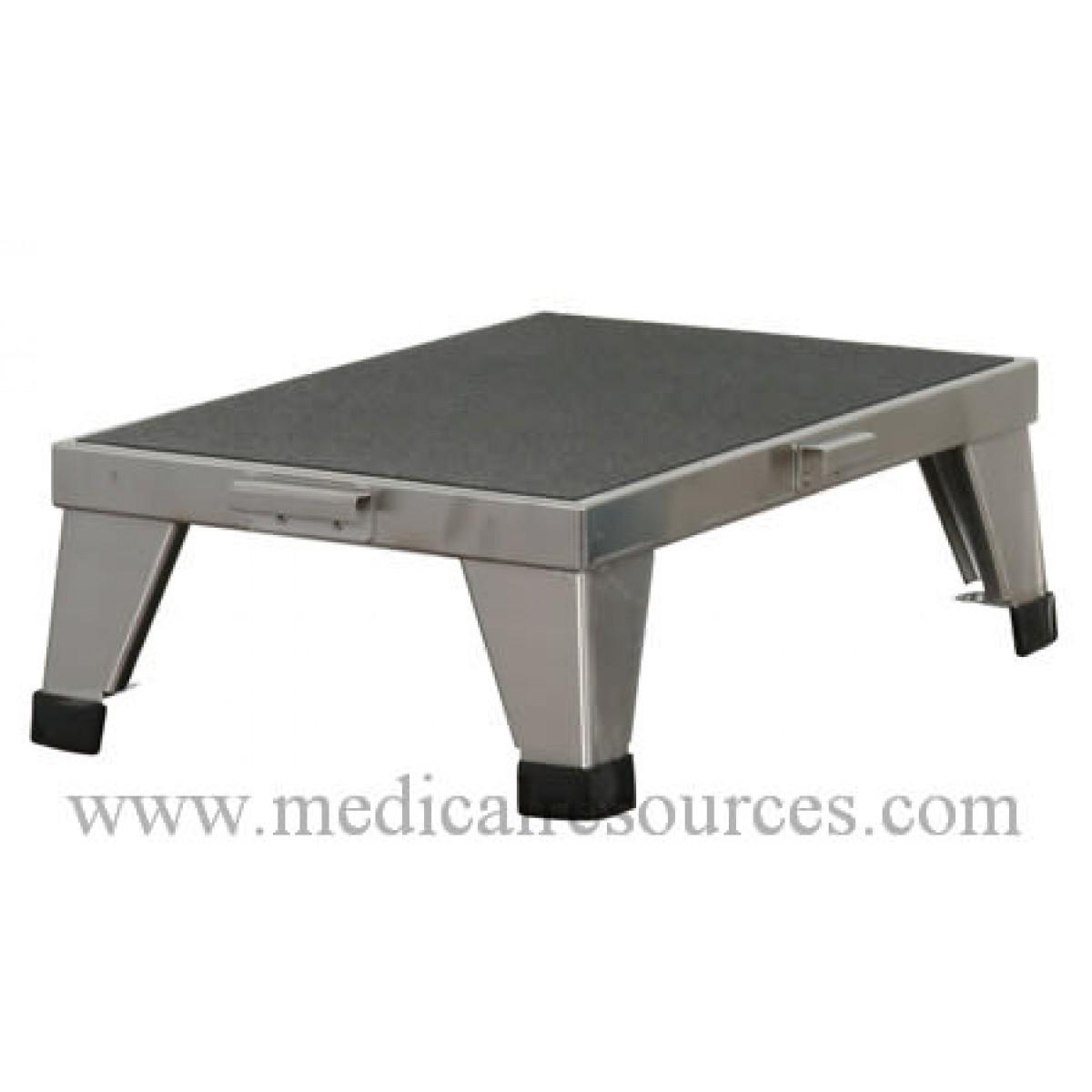 United Metal Fabricators Stainless Steel Stackable Foot Stool