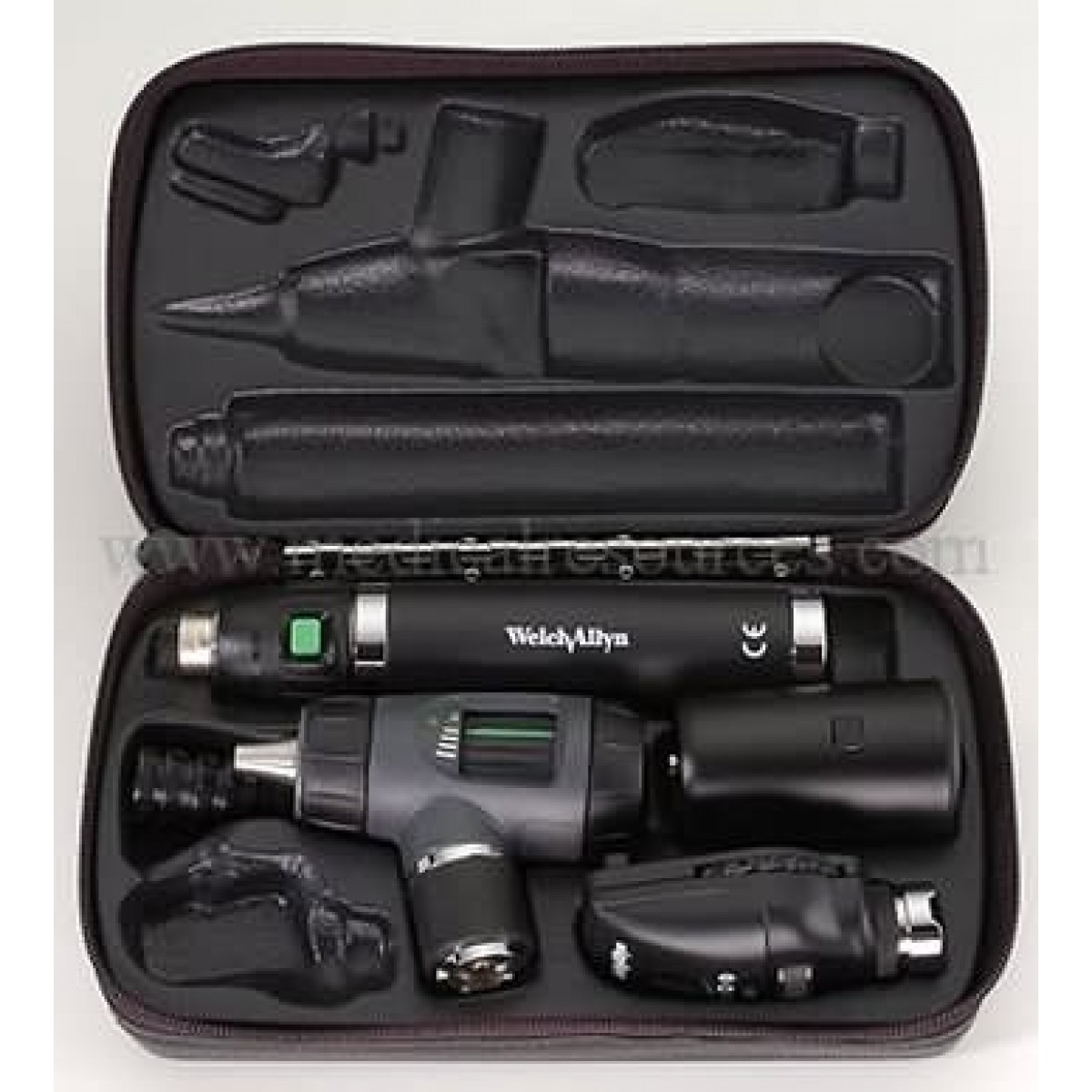 Welch Allyn Diagnostic Otoscope and Ophthalmoscope Sets
