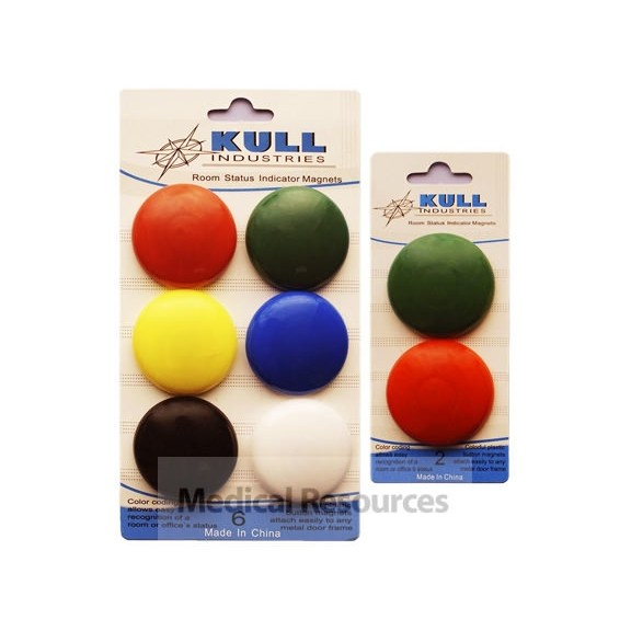 Exam Room Button Magnet Flags System