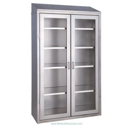 MedWurx Stainless Steel Supply Instrument Cabinets
