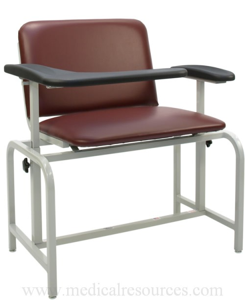 Winco 2575 Bariatric Padded Blood Drawing Chairs